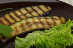 Grilled eggplants Stock Image