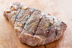 Grilled entrecote Stock Image