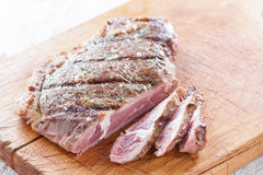 Grilled entrecote Royalty Free Stock Image