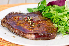 Grilled entrecote Stock Photography