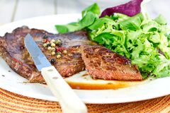 Grilled entrecote Royalty Free Stock Photo