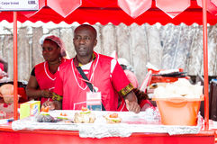 Grilled festival of Abidjan. Stock Photography