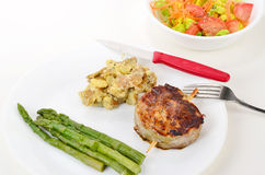 Grilled Filet Dinner Royalty Free Stock Photo