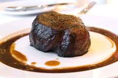 Grilled Filet Mignon Royalty Free Stock Images