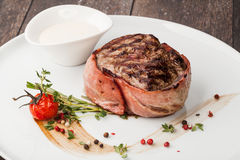 Grilled fillet steak Royalty Free Stock Photo