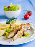 Grilled fish Royalty Free Stock Photography