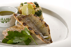 Free Grilled Fish Stock Photography - 9531612