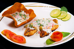 Grilled Fish Filet. Royalty Free Stock Images