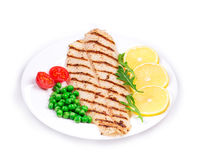 Grilled fish fillet. Stock Photography