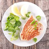 Grilled fish tuna Stock Photo