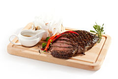 Grilled Flank Steak Royalty Free Stock Photography