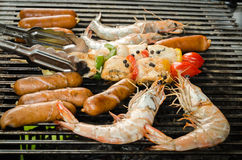 Grilled food Stock Photography
