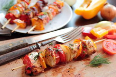 Grilled food Royalty Free Stock Photos