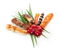 Grilled Foods Stock Photo