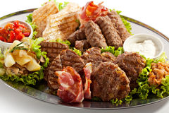 Grilled Foods Stock Images