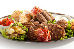 Grilled Foods Stock Photos