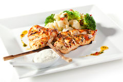 Grilled Foods Stock Image