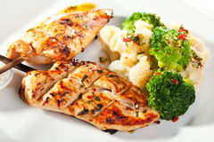Grilled Foods Stock Photography