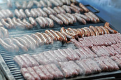 Grilled fresh meat Stock Image