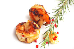 Grilled Giant Prawns Royalty Free Stock Image