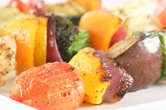 Grilled gourmet veggies. Perfect and healthy grilled veggies Stock Images