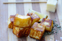 Grilled halloumi Stock Images