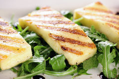 Grilled Halloumi cheese Royalty Free Stock Photos