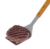 Grilled Hamburger Stock Image