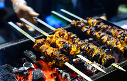 Grilled kebabs Royalty Free Stock Photos