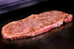 Grilled Kobe Miyazaki beef Stock Photos