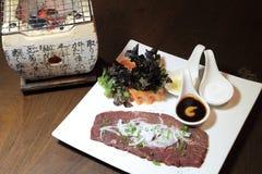 Grilled Kobe Miyazaki Stock Photography