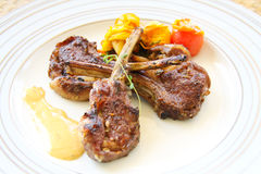 Grilled Lamb Royalty Free Stock Image