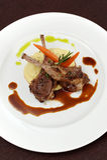 Grilled Lamb Chops stock photos