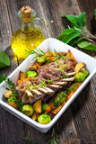 Grilled Lamb Chops Royalty Free Stock Image