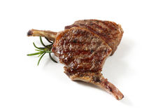 Grilled Lamb Cutlets Royalty Free Stock Photo