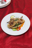 Grilled lamb cutlets Stock Image