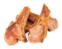 Grilled Lamb Cutlets Stock Photography