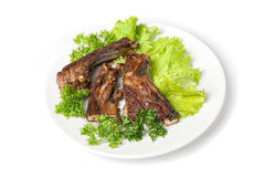 Grilled  lamb meat Royalty Free Stock Photo