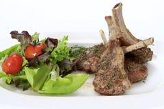 Grilled lamb racks Royalty Free Stock Photo