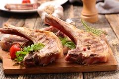 Grilled lamb rib Royalty Free Stock Photo