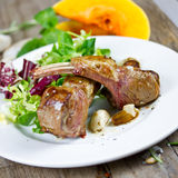 Grilled lamb Royalty Free Stock Photography