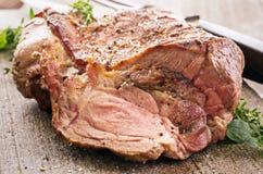 Grilled Lamb Shoulder stock photos