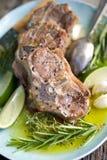 Grilled lamb steak Stock Image