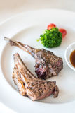 Grilled Lamb steak Stock Images