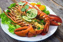 Grilled lobster Royalty Free Stock Image