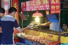 Grilled lobster stalls Stock Images