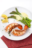 Grilled lobster tails Royalty Free Stock Photos