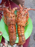 Grilled Lobster Royalty Free Stock Photo