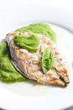Grilled mackerel Royalty Free Stock Photos