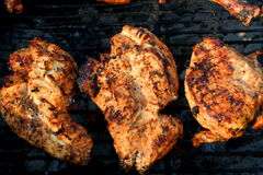 Grilled marinated chicken breast 3 Stock Image